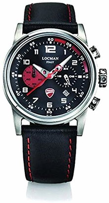 Locman Analog Quartz Watch with Stainless Steel Strap Clear 3 (Model: 4573282437520)