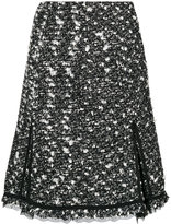 Giambattista Valli high-waisted tweed skirt