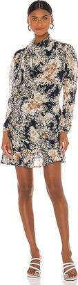 MinkPink Brigitte Floral Mini Dress