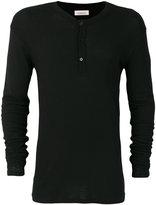Laneus button up sweatshirt - men - Polyamide/Modal/Wool - XS