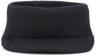 Prada Knitted wool visor