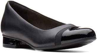 Clarks Collection By Juliet Monte Leather Slip-On Shoes