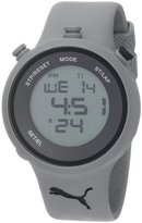 Puma Men's Active PU910901002 Grey Plastic Quartz Watch with Dial