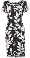 Dorothy Perkins Womens *Roman Originals Black Tapework Dress- Black