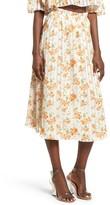 Privacy Please Women's Whitney Floral Midi Skirt