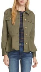 Frame Flounce Hem Jacket