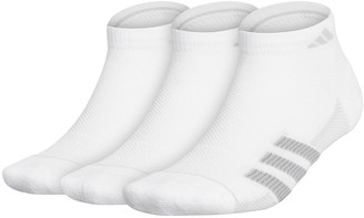 adidas Men's Superlite Stripe II 3-pack Low-Cut Socks