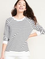 Old Navy Boyfriend French Terry Tunic Sweatshirt for Women