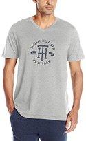 Tommy Hilfiger Men's Short Sleeve V-Neck Th Graphic T-Shirt