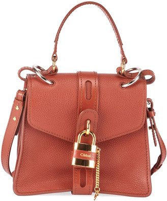 Chloé Aby Small Grained Top-Handle Bag