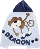Boogie Baby Blue Hanging Around Hooded Towel, Personalized