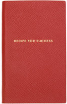 Smythson 'Recipe for Success' notebook