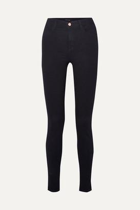 J Brand Maria High-rise Skinny Jeans - Blue
