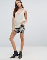Brave Soul Floral Mini Skirt