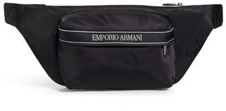 Emporio Armani Logo-Tape Belt Bag