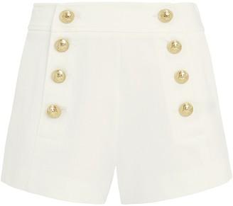 Derek Lam 10 Crosby Tailored Cotton Sailor Shorts