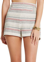 BCBGeneration Striped Tweed A-Line Shorts