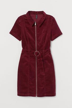 H&M Corduroy Dress