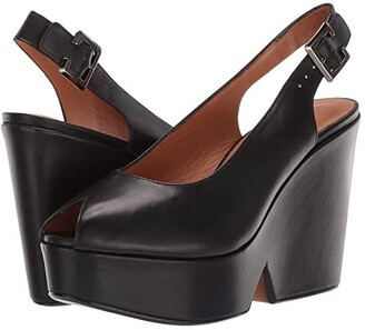 Clergerie Dylan 3 (Black Calf) Women's Shoes