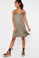 boohoo Kelly Strappy Swing Dress