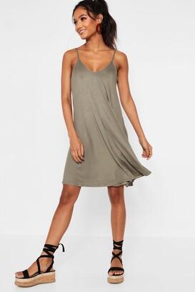 boohoo Strappy Swing Dress