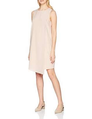 Trussardi Jeans Women's Mini Dress Regular Fit Poly Yarn Dyed(Size : 46)