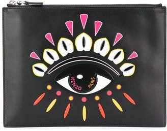 Kenzo Indonesian Flower Eye clutch