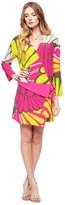 Juicy Couture Silk Bromeliad Floral Dress