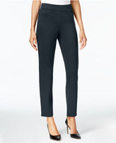 JM Collection Ponte-Knit 5-Pocket Pull-On Pants, Created for Macy's