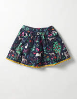 Boden Pretty Printed Skirt
