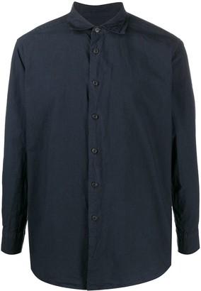 Casey Casey Cutaway Collar Long-Sleeved Shirt