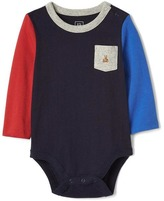Gap Colorblock pocket bodysuit