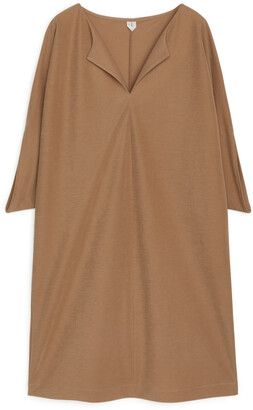 Arket Wide-Fit Batwing Dress