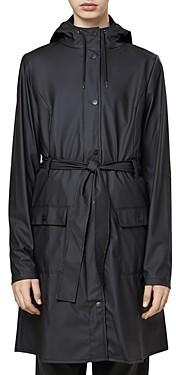 Rains Curve Tie Belt Jacket