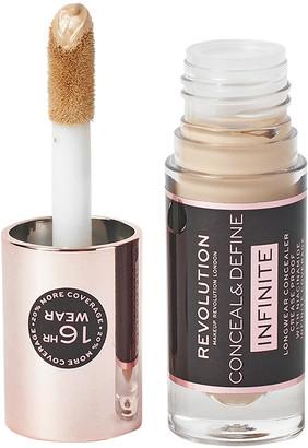 Makeup Revolution Conceal & Define Infinite Longwear Concealer C7