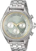 Nixon Women's 'Minx Chrono' Quartz Stainless Steel Watch, Color:Silver-Toned (Model: A9932162-00)