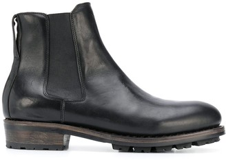 Ajmone Elasticated Panel Ankle Boots