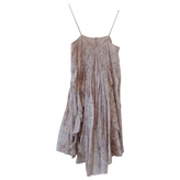 Isabel Marant Ecru Cotton Dress