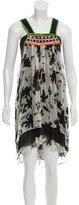 Etro Silk Embellished Dress