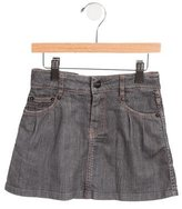 Little Marc Jacobs Girls' Denim Mini Skirt
