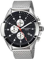 Tommy Bahama Men's Quartz Stainless Steel Casual Watch, Color:Silver-Toned (Model: TB00011-05)