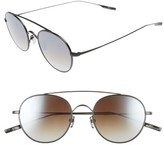 Salt Men's Bridges 51Mm Polarized Sunglasses - Black Sand