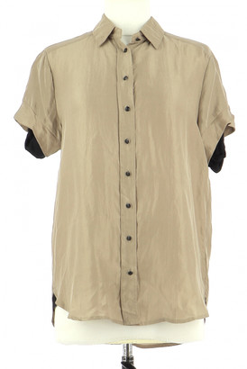 The Kooples Gold Silk Shirts