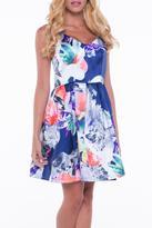 B.ella Floral A-Line Dress