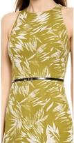 Jason Wu Botanical Linen Racer Back Dress