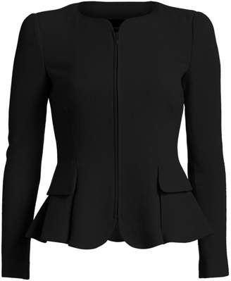 Emporio Armani Fit-And-Flare Wool Jacket