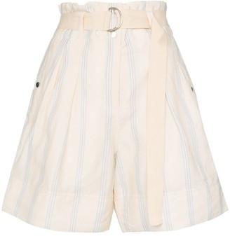 Lee Mathews Madox pleated shorts