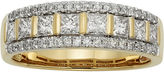 JCPenney MODERN BRIDE 1 CT. T.W. Certified Diamond 14K Yellow Gold Celebration Band