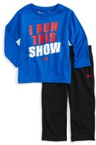 Under Armour Infant Boy's I Run This Show T-Shirt & Pants Set