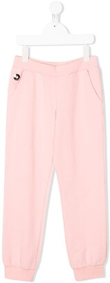 Philipp Plein Junior Logo Track Trousers